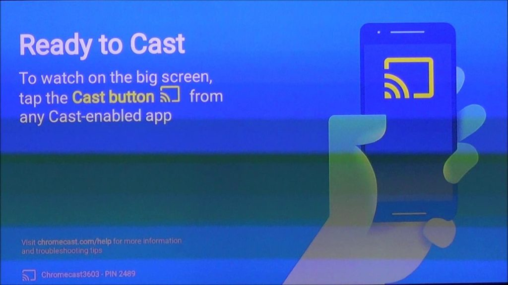 Chromecast Activation